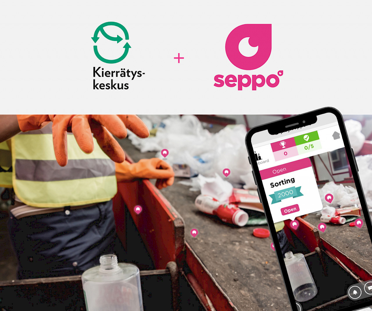 High class gamified environmental education –  A new expertise product for global markets from Finland created by Seppo.io and Reuse Centre